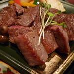 知伽良 - 【国産牛ステーキ】♪