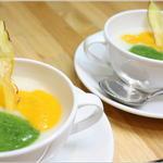 有機菜園ダイニング・タベルナ - クリスマスディナーメニュー(スープ)