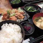 33375447 - ランチ「油淋鶏定食 780円」