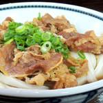 かみ家製麺所 - 肉ぶっかけ冷