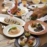 CANAE China 福龍 - お祝に最適なコースもご予算により調整いたします