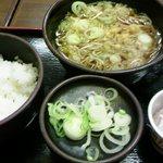 ゆで太郎 - 朝食セット