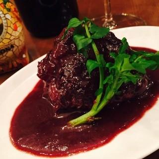 1日限定3食!!『国産牛ほほ肉の赤ワイン煮』