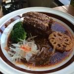 豚とレンコンのバルサミコマスタード煮込み Pork belly&Loutas roots
