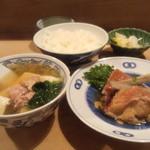 大衆割烹 三州屋 - 【2014年10月】金目鯛煮付け定食