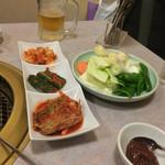 南大門 - 南大門はキムチも美味しくて有名なんだそうです。実際、おいしかった!