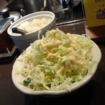 ビィビィ - 2012年12月 セットのサラダ