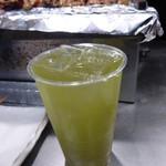 鳥勇 - 緑茶割