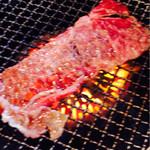 yakinikuyakuyakutei - 松坂牛の焼きスキなるもの始めて食べて見た。あまりの美味しさにビックリ!こんなの始めて!焼肉より美味しいかも!
