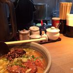 麺屋 あまのじゃく  - 味噌とんこつ 薬味など