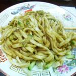 白龍 - じゃじゃ麺(かき混ぜ後)