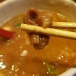 つけ麺 ちっちょ極 - 牛ホルモンのつけ麺 880円