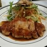 コロンバ - 豚ロースのジンジャーステーキ