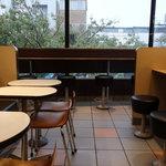 マクドナルド - 店内(二階)