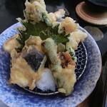 お食事処日本海 - お気軽膳(天ぷら)