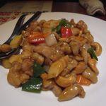 福盈門 - 7.国産若鶏とカシューナッツの炒め物
