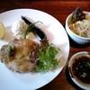 土のテーブル - 料理写真:若鶏のソテーわさびソース