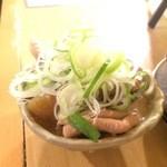 杉田もつ肉店 - モツ煮込み
