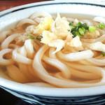 上野製麺所 - かけ