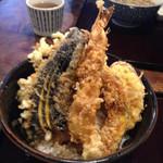 33396207 - ランチ天丼…海老と野菜