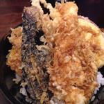 33396208 - ランチ天丼…イカと野菜