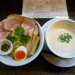 ラーメン家 みつ葉 - 豚 CHIKI つけ麺(H26.12.9)