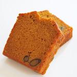 黒糖キャラメルのパウンドケーキ