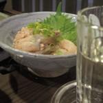 ツバメヤ - カワハギのキモ和えは日本酒で!