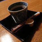 竹ちゃん鮨 - 竹ちゃん鮨 コーヒー付き