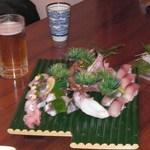 関の瀬 - 関アジさんと関サバさんのお寿司です。