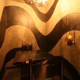 秘密の個室。