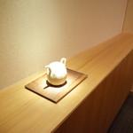 神楽坂 石かわ - 個室内の装飾 2014.12.1x
