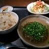 居食家 灯り - 料理写真:豆腐ハンバーグ