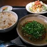 居食家 灯り - 豆腐ハンバーグ