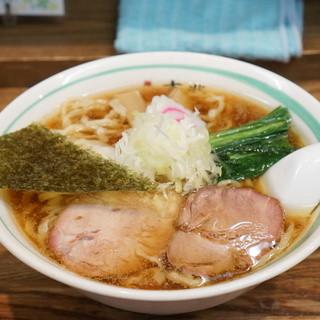 麺壱 吉兆 - 料理写真:支那そば(魚介)