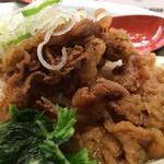 肉肉ラーメン - 肉肉ラーメン、タレ