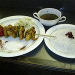 ペルシャ料理シルクロード - ジュジェキャバブ