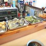 蕎麦bar - 天ぷらは入れ放題でしたが…