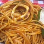 スパゲッティーのパンチョ - 海鮮ナポリタン