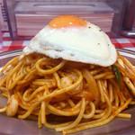 スパゲッティーのパンチョ - 海鮮ナポリタン大