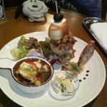 チコラカフェ - 欲張りプレート