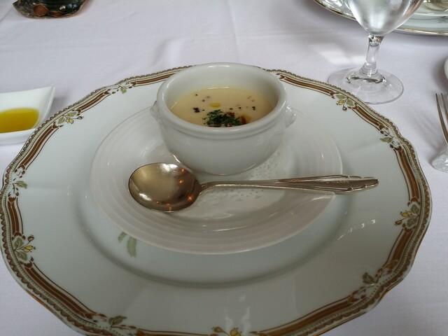 レストラン ラ・マーレ - スープ