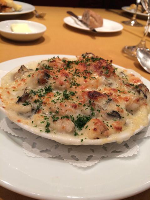 カーヴ・デ・ヴィーニュ - 牡蠣のグラタン