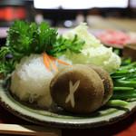 金谷 - すき焼きの野菜☆