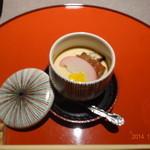 33409467 - うなぎ、肝入りの茶碗蒸しです