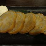 九州桜 - からし蓮根:580円