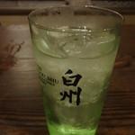 九州桜 - 白州ハイボール:650円