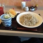 33410505 - ざる蕎麦小盛り天ぷら付き