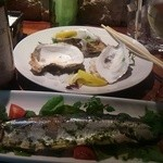 じんりきシーフードバール - 【秋刀魚のコンフィ】骨まで食べられます。 ☆3