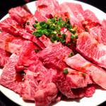 七輪焼肉 まぁ坊 - 料理写真:カルビセット